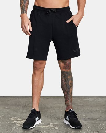 0 SPORT TECH SWEATSHORT Black V2013RSH RVCA