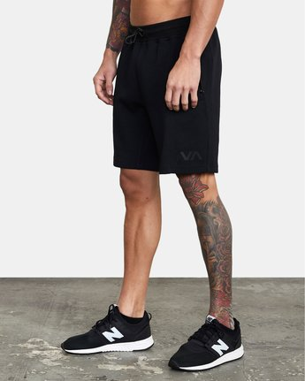 2 SPORT TECH SWEATSHORT Black V2013RSH RVCA