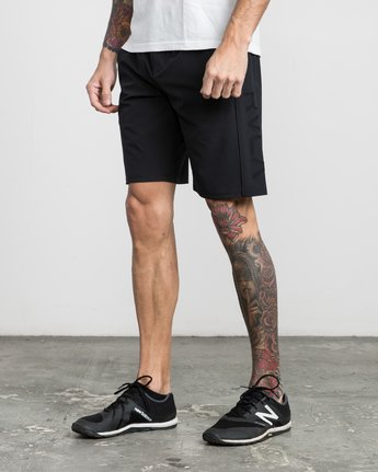 "2 Affiliate 19"" Sport Short Black V201PRAF RVCA"