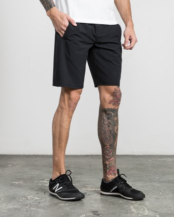 "6 Affiliate 19"" Sport Short Black V201PRAF RVCA"
