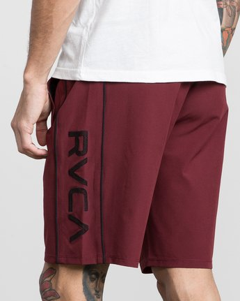"7 Affiliate 19"" Sport Short White V201PRAF RVCA"