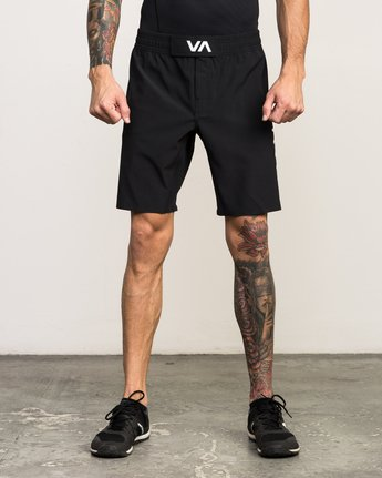 "1 Scrapper 2 19"" Short Black V201QRSC RVCA"