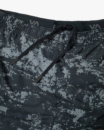 "14 YOGGER STRETCH ATHLETIC SHORTS 17"" Blue V201TRYS RVCA"