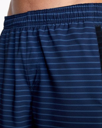 "16 YOGGER STRETCH ATHLETIC SHORTS 17"" Blue V201TRYS RVCA"