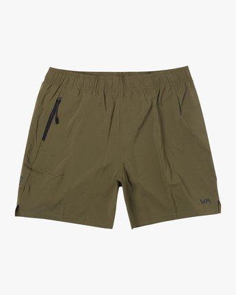 "0 TECH STRIKE 20"" TRAIN SHORT Green V2023RTS RVCA"