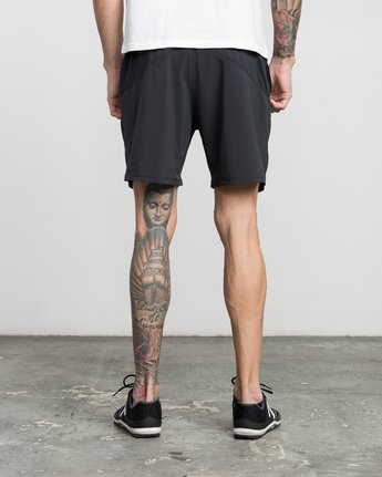 "4 ATG 17"" Short Black V202PRAT RVCA"