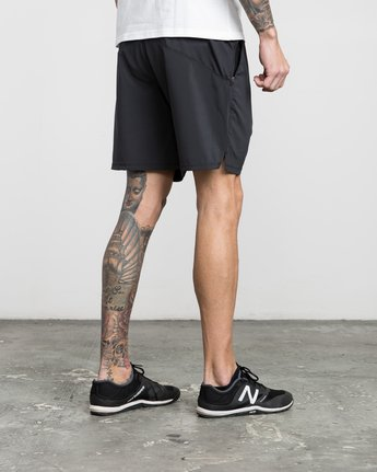 "5 ATG 17"" Short Black V202PRAT RVCA"