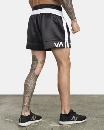 "4 RVCA MUAY THAI SHORT 15"" Black V2031RMT RVCA"