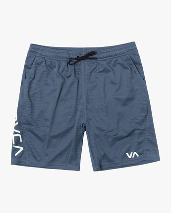 "0 VA MESH 20"" WORKOUT SHORT Red V2033RME RVCA"