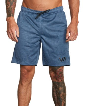 "7 VA MESH 20"" WORKOUT SHORT Red V2033RME RVCA"