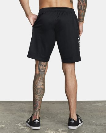 "4 VA MESH 20"" WORKOUT SHORT Black V2033RME RVCA"