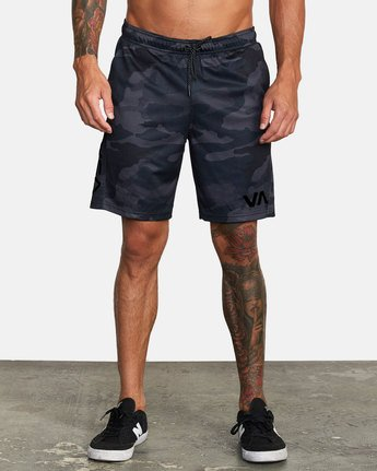 1 VA MESH SHORT Brown V2033RME RVCA