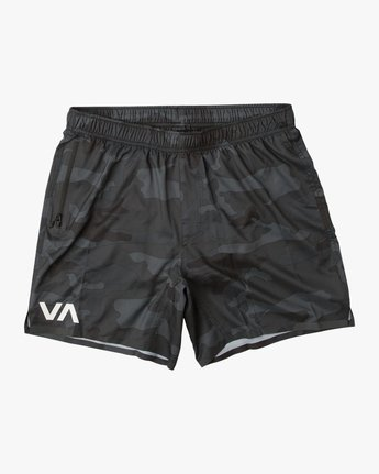"0 VA Tech 16"" Short Brown V203QRCH RVCA"