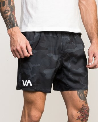 "7 VA Tech 16"" Short Camo V203QRCH RVCA"