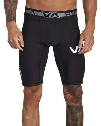 5 COMPRESSION SHORT Black V2061RCS RVCA