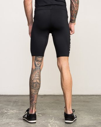 4 VA Performance Short Black V206QRCS RVCA