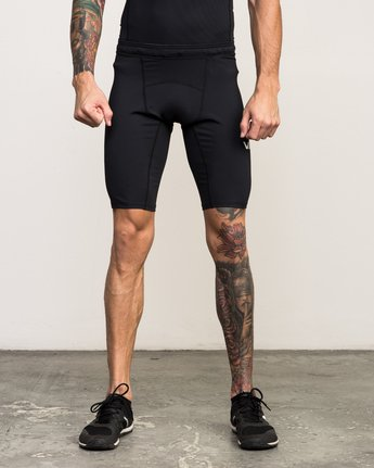 1 VA Performance Short Black V206QRCS RVCA