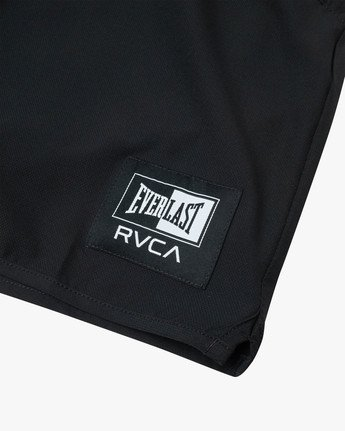 "17 EVERLAST YOGGER IV 17"" WORKOUT SHORT Black V2091REY RVCA"