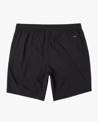 "1 YOGGER IV Recycled 17"" WORKOUT SHORT Black V2091YGR RVCA"