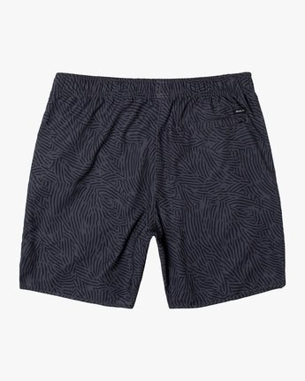 "1 YOGGER IV ATHLETIC SHORTS 17"" Grey V2091YGR RVCA"