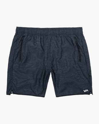"0 YOGGER IV ATHLETIC SHORTS 17"" Black V2091YGR RVCA"