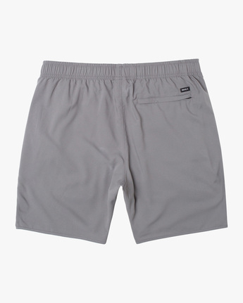 "1 YOGGER IV Recycled 17"" WORKOUT SHORT Grey V2091YGR RVCA"