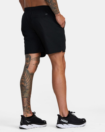 "6 YOGGER IV ATHLETIC SHORTS 17"" Black V2091YGR RVCA"