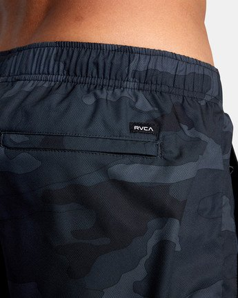 "10 YOGGER IV ATHLETIC SHORTS 17"" Brown V2091YGR RVCA"