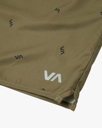 "12 YOGGER IV ATHLETIC SHORTS 17"" Brown V2091YGR RVCA"