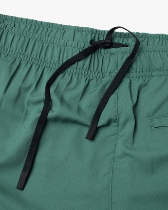 "13 YOGGER IV ATHLETIC SHORTS 17"" Green V2091YGR RVCA"