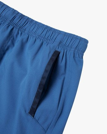 "11 YOGGER IV Recycled 17"" WORKOUT SHORT Blue V2091YGR RVCA"