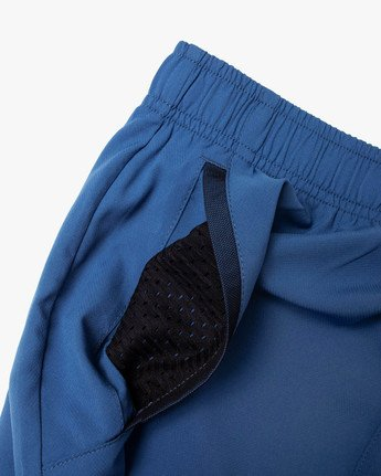 "13 YOGGER IV Recycled 17"" WORKOUT SHORT Blue V2091YGR RVCA"