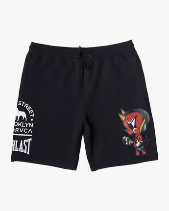 0 EVERLAST X SMITH STREET FLEECE WORKOUT SHORT Multicolor V2093RES RVCA