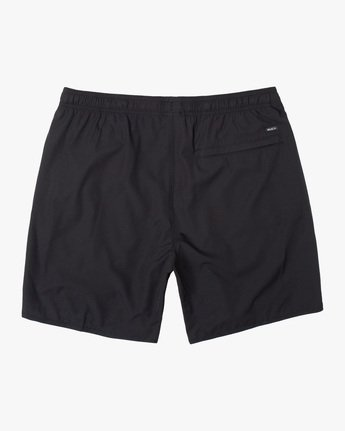 "1 YOGGER STRETCH ATHLETIC SHORTS 17"" Black V2103RYS RVCA"