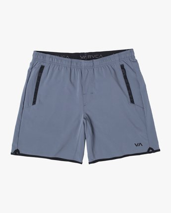 "0 YOGGER 17"" STRETCH WORKOUT SHORT Red V2103RYS RVCA"