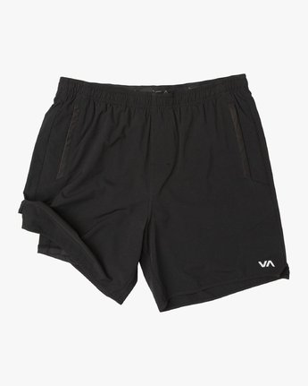 "2 YOGGER 17"" 2 IN 1 SHORT Black V2113RYL RVCA"