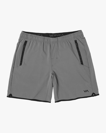 "0 YOGGER IV ATHLETIC SHORTS 17"" Grey V2133RYG RVCA"