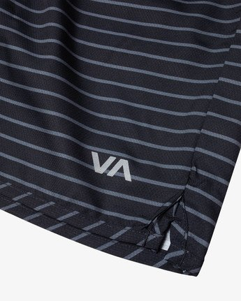 """11 YOGGER IV 17"""" WORKOUT SHORT Black V2133RYG RVCA"""
