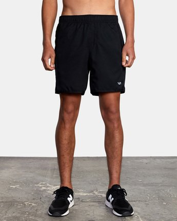 "10 YOGGER IV ATHLETIC SHORTS 17"" Black V2133RYG RVCA"