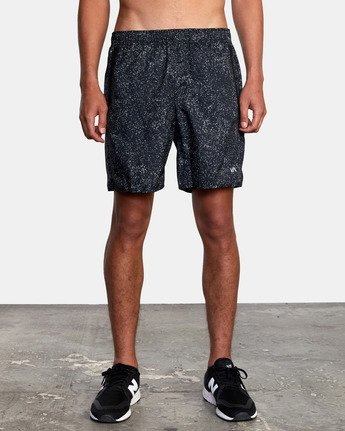 "8 YOGGER IV ATHLETIC SHORTS 17"" Black V2133RYG RVCA"