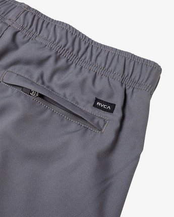 "4 YOGGER IV ATHLETIC SHORTS 17"" Grey V2133RYG RVCA"