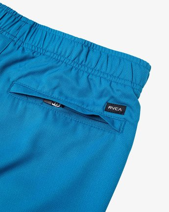 "4 YOGGER IV 17"" WORKOUT SHORT Black V2133RYG RVCA"