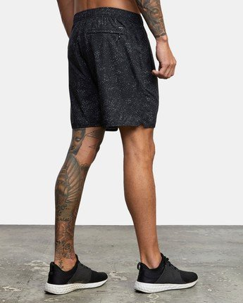 "5 YOGGER IV 17"" WORKOUT SHORT Black V2133RYG RVCA"