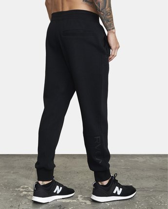 5 SPORT TECH SWEATPANT Black V3013RSP RVCA