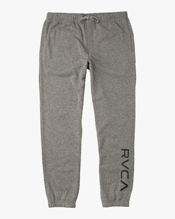 6 VA Guard Fleece Sweatpant Grey V301QRGU RVCA