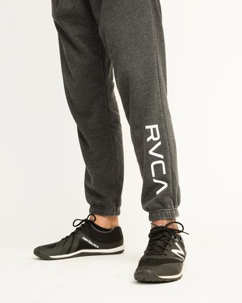 6 VA Guard Fleece Sweatpant Black V301QRGU RVCA
