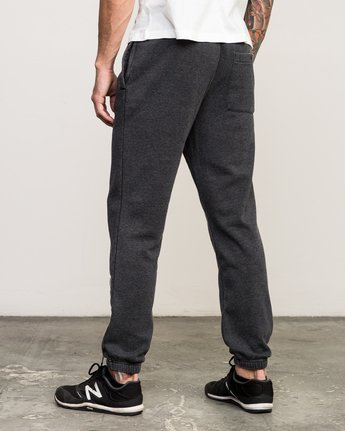 2 VA Guard Fleece Sweatpant Black V301QRGU RVCA