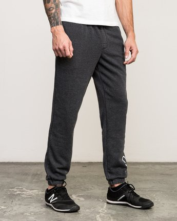 5 VA Guard Fleece Sweatpant Black V301QRGU RVCA