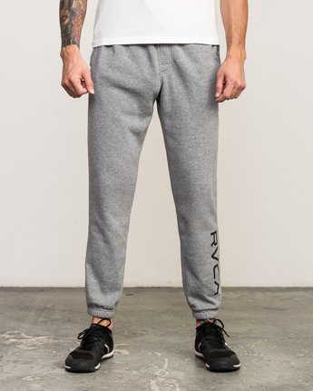0 VA Guard Fleece Sweatpant Grey V301QRGU RVCA