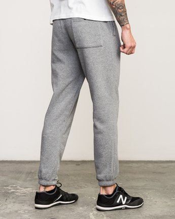 4 VA Guard Fleece Sweatpant Grey V301QRGU RVCA